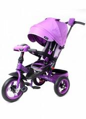 Велосипед Moby Kids Leader 360° 12x10 AIR Car Фиолетовый (641073)