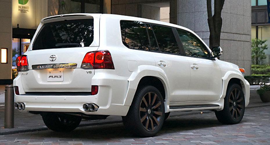 Обвес ART для Toyota Land Cruiser 200
