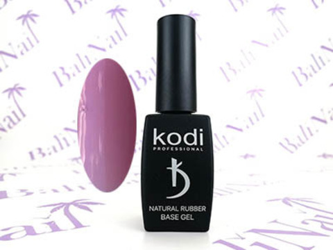 KODI, Цветной базовый гель Natural Rubber Base PINK, 12 мл