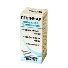 Пектинар стерильные салфетки, 10 шт. (Элюсан)