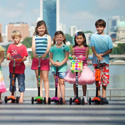 micro-scooter  дети на maxi micro
