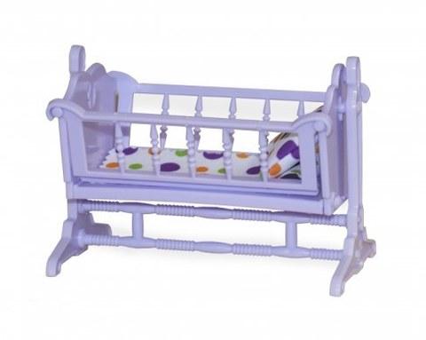 Мебель для кукол Огонёк Колыбель Конфетти С-1371