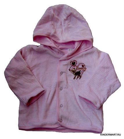 Кардиган розовый Lupilu с вышивкой
