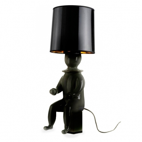 replica Jaime Hayon  CLOWN table lamp  h 45 beige