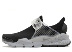 Кроссовки Женские Nike Sock Dart SP Fragment Design Black Grey