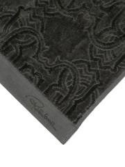 Набор полотенец 3 шт Roberto Cavalli Logo темно-серый