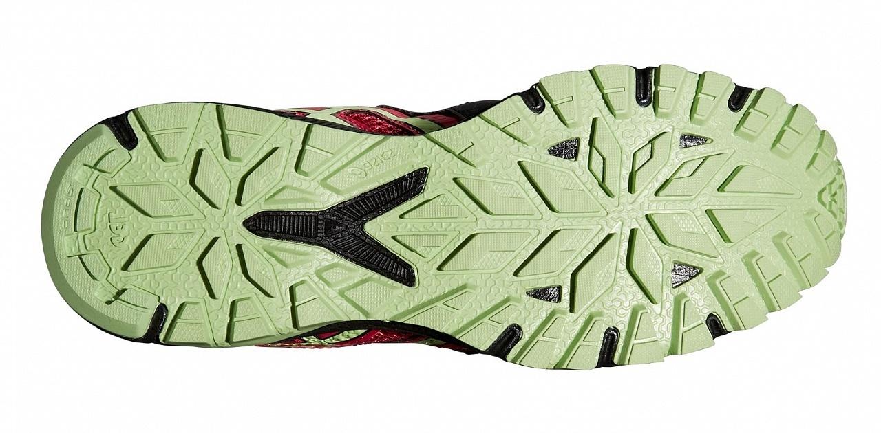 женские беговые кроссовки внедорожники Asics Gel-FujiAttack 4 (T584N 9087)