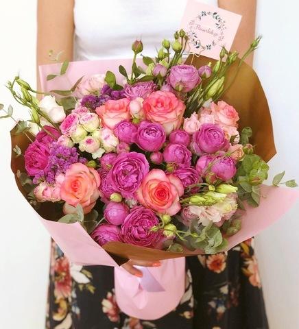 Букет «Бабл Роуз»