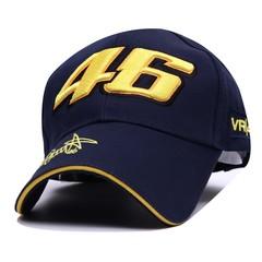 Кепка Ямаха 46 (Бейсболка Yamaha VR-46) темно-синяя 02