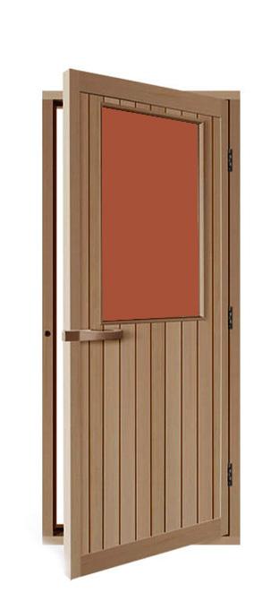 Двери: Дверь SAWO 735-4SGD-R 700 x 2040 (бронза, правая, кедр) шкаф изотта 23к дверь правая ангстрем