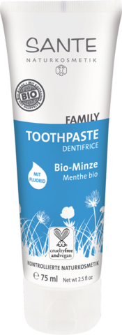SANTE FAMILY Зубная паста с Мятой и Фтором