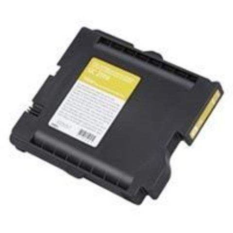 LE Картридж Ricoh для гелевого принтера GC31YH желтый Aficio GXe5550N/7700N. Ресурс 4000 стр. (405704)