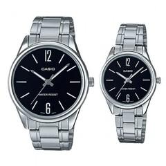 Парные часы Casio Standard: MTP-V005D-1B и LTP-V005D-1B