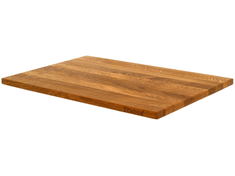 деревянная Разделочная доска дуб 60x40x2  см.