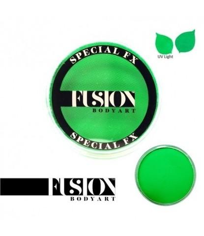 Аквагрим Fusion неоновый зеленый 32 гр