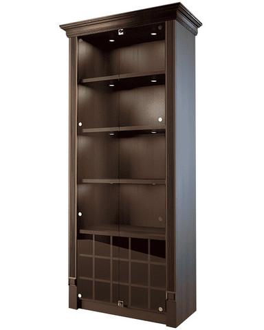 фото 1 Шкаф для элитного алкоголя со стеклянными дверцами и отдельными секциями Евромаркет LD 005-CT на profcook.ru