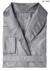 Элитный халат сатиновый Delhi anthrazit от Curt Bauer