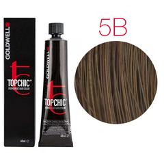 Goldwell Topchic 5B (Бразилия) - Cтойкая крем краска 60мл