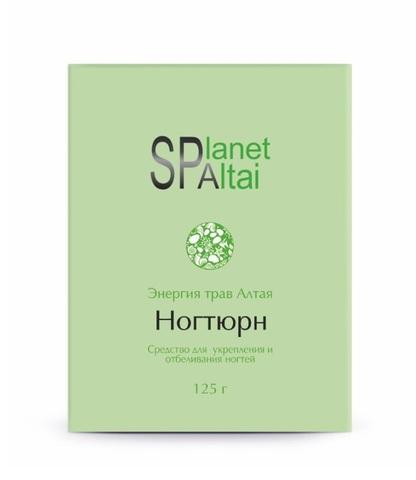 Planet SPA Altai Средство для укрепления и отбеливания ногтей Ногтюрн фото2