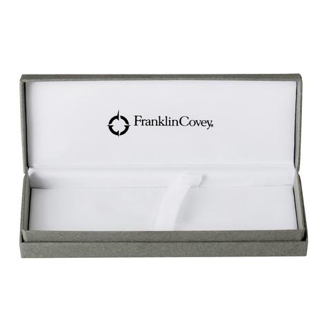Набор подарочный FranklinCovey Freemont - Satin Chrome, шариковая ручка + карандаш, M