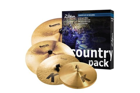 ZILDJIAN COUNTRY K PACK комплект тарелок
