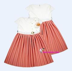1555 платье юбка плиссе