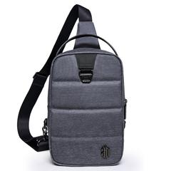 Однолямочный рюкзак ARCTIC HUNTER B0075 Серый