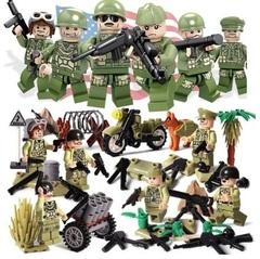 Минифигурки Военных Армия США серия 316