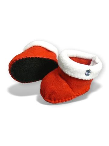 Сапожки с отворотом - Красный. Одежда для кукол, пупсов и мягких игрушек.