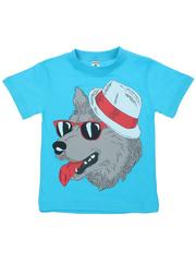 MK002F-5 футболка детская, голубая