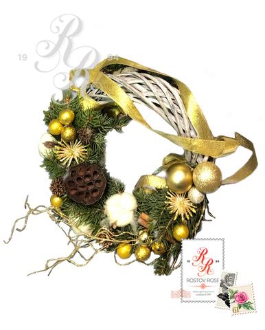 Рождественский венок 9