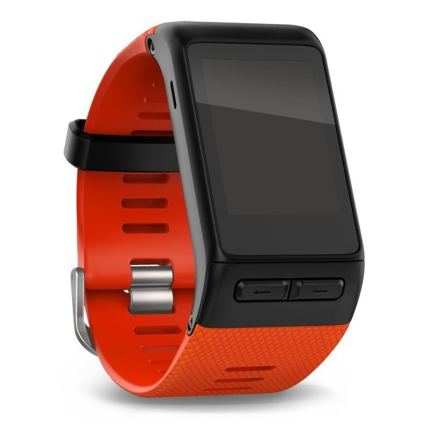 Ремешок силиконовый Garmin Vivoactive HR красный