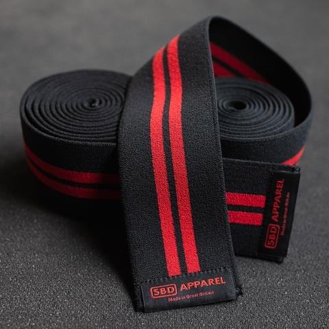 купить коленные бинты sbd черные соревновательные 2 м