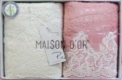 Набор полотенец  2 предмета JASMIN - ЖАСМИН / Maison Dor (Турция)