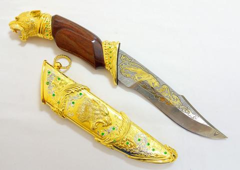 Дамасский нож