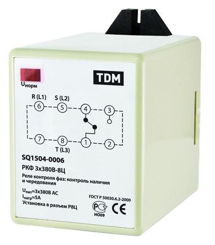 РКФ 3х380В-8Ц TDM