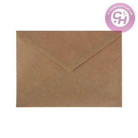 Крафт конверт 16,2x22,9 см, 90 г/м, 1 шт.