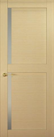 Дверь Океан Ника 6, стекло белое, цвет беленый дуб, остекленная