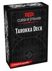 D&D Curse of Strahd: Tarokka Deck (54 Cards)