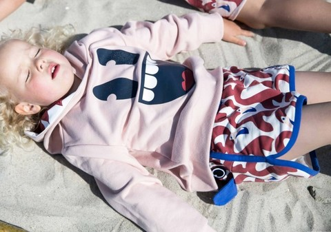 СВИТШОТ SMILEY HOODIE POWDER PINK