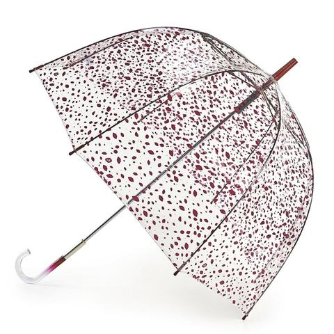 Зонт женский трость Lulu Guinness Fulton Roughlycutoutspot (Поцелуи)