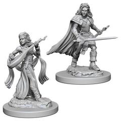 Pathfinder Deep Cuts Unpainted Miniatures - Human Female Bard