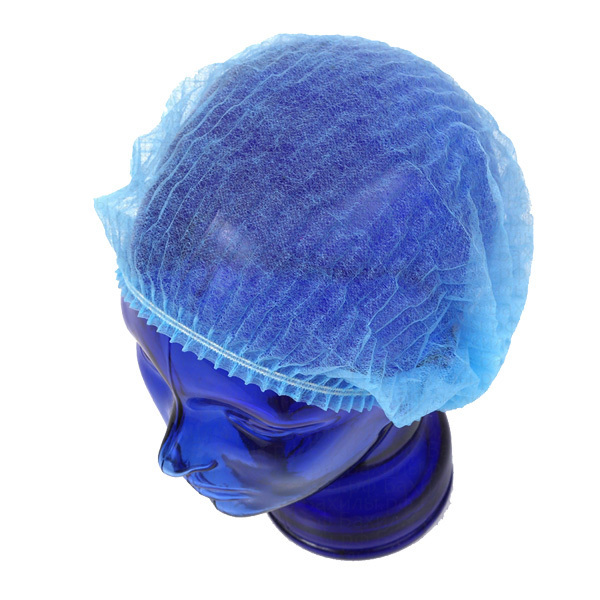 Одноразовая одежда, белье Шапочки одноразовые медицинские Шарлотта голубая, 100 шт/уп шапочка-Шарлотта-голубая.jpg