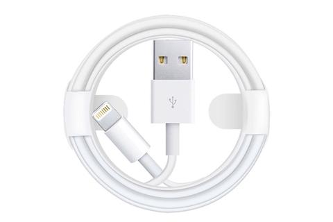 Кабель Foxconn Lightning для iPhone, iPad  (1 метр) белый