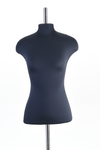 Манекен портновский женский 56 размер ОСТ (черный)