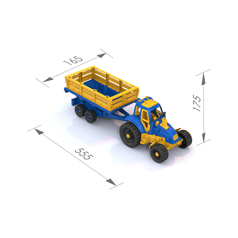 Трактор с прицепом/396