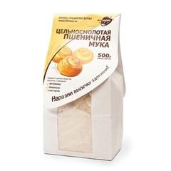 Мука Пшеничная цельнозерновая (цельносмолотая), 500 гр. (Образ жизни)