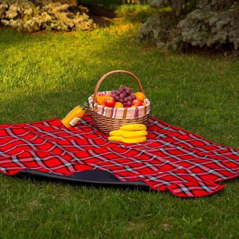 Плед для пикника Sleepy, красный