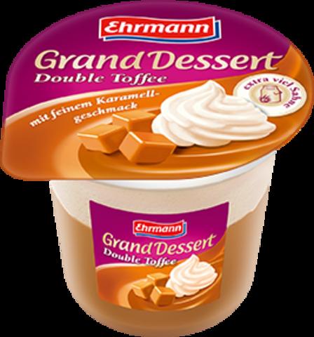 """Пудинг """"Grand Dessert""""  двойной тоффи 200г"""