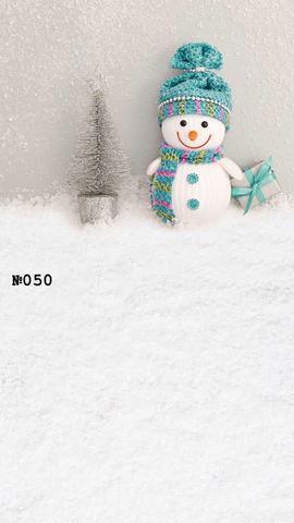 Фотофон виниловый «Снеговик» №050